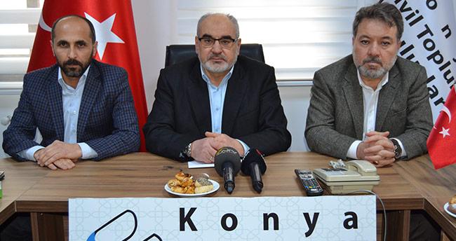 Konya'dan Çin'in Doğu Türkistan'da uyguladığı zulme tepki