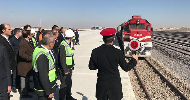 Bakan Turhan, Yeni Konya Tren Garı ve Lojistik Merkezi'ni inceledi