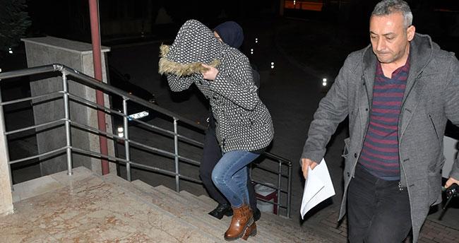 Cezaevi firarisi kadın Konya'da yakalandı