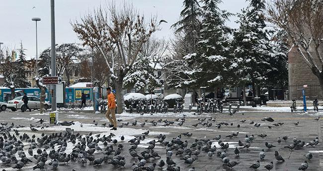 Meteoroloji duyurdu! – Konya'ya kar geliyor