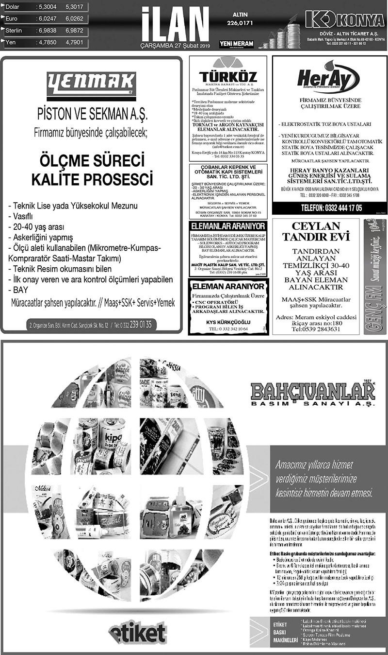 27 Subat 2019 Yeni Meram Gazetesi Sayfa 5 12 Yeni Meram
