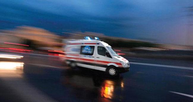 Ilgın'da otomobil bisiklete çarptı: 1 yaralı