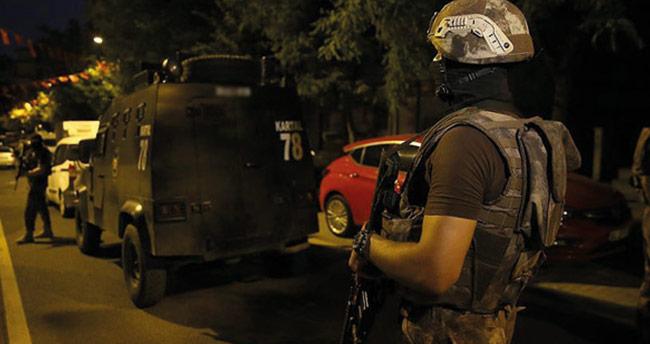 600 polisle şafak vakti torbacı operasyonu