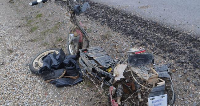 Kazada yaralanan Afganistan vatandaşı yaşamını yitirdi