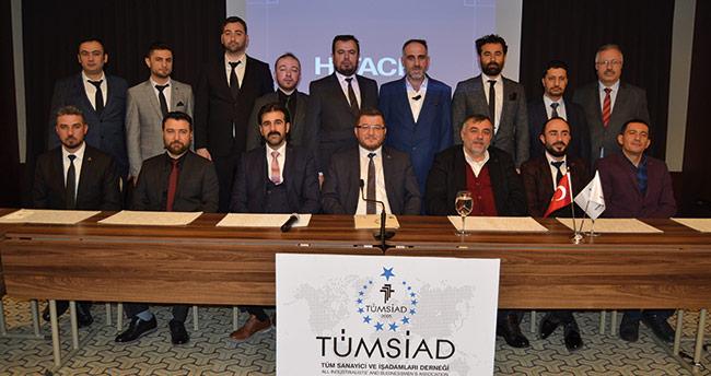 TÜMSİAD Konya Şubesinde yeni yönetim göreve başladı