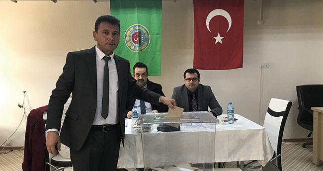 Ilgın Ziraat Odası başkanlığına Ahmet Kara seçildi