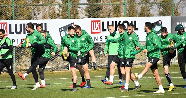 Konyaspor, Göztepe hazırlıklarına devam etti