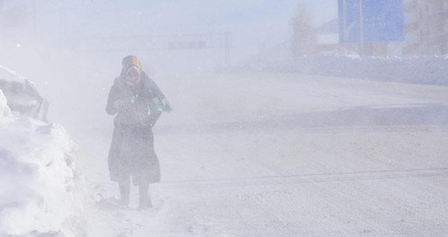 Doğu Anadolu buz kesti! Eksi 25 derece!