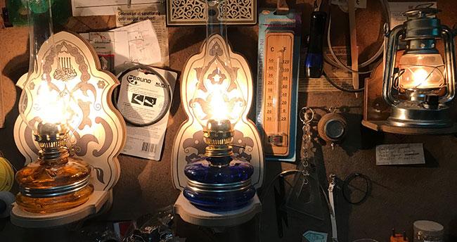 Gaz lambalarını elektrikliye dönüştürüyor