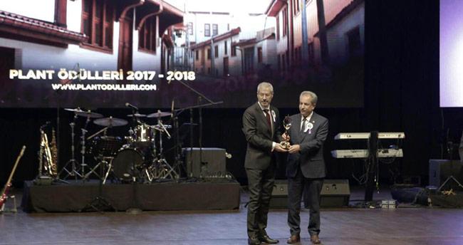 Başkan Akkaya, Plant Ödülü'nü aldı