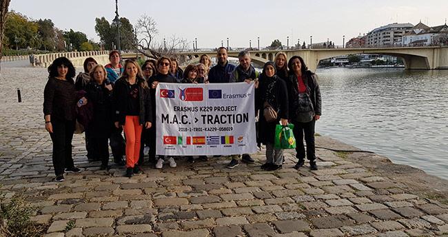 Erasmus projesiyle Konya'dan İtalya'ya gittiler