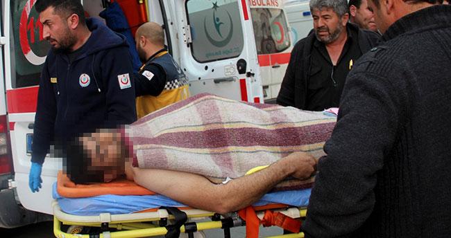 Konya'da tarla kavgası: 1 kişi ağır yaralı