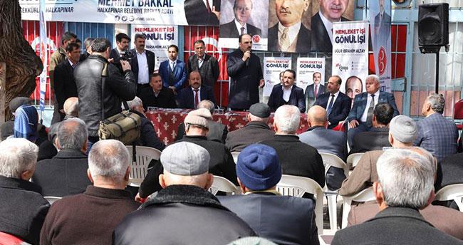 Konya Büyükşehir Belediye Başkanı Altay Halkapınar'da