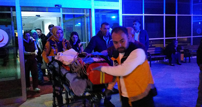 Konya'da üzerine televizyon düşen 4 yaşındaki çocuk yaralandı