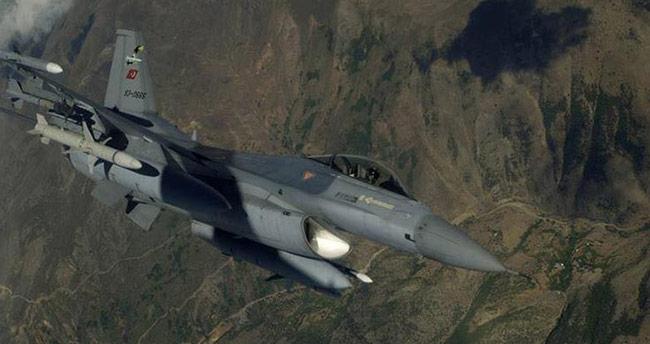 Kuzey Irak'a hava harekatı: İmha edildi
