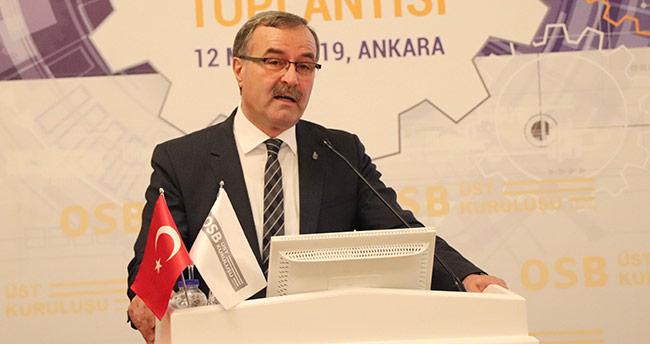 """""""OSB'ler Türkiye'nin sanayileşmesinde başarı hikayeleri yazdı"""""""
