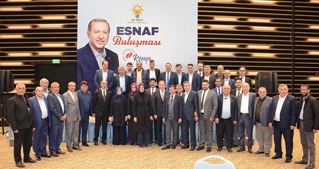 AK Parti Konya'dan Esnaf Buluşması programı