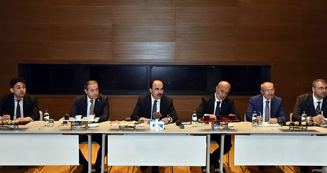 Başkan Altay, İlçelerin Şoförler Odası Başkanlarıyla Buluştu