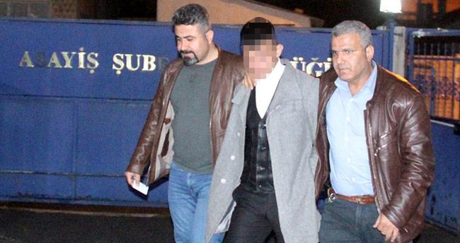 Konya'da kız arkadaşının babasını yaralayan zanlı tutuklandı