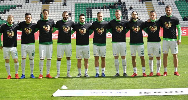 Konyaspor'dan Furkan Kocaman için anlamlı hareket