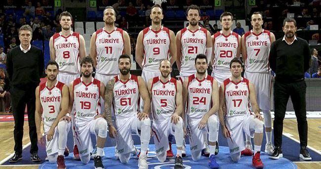 A Milli Erkek Basketbol Takımının rakipleri belli oldu