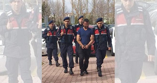 Konya'da 2 kişi çaldıkları otomobili parçalarken yakalandı