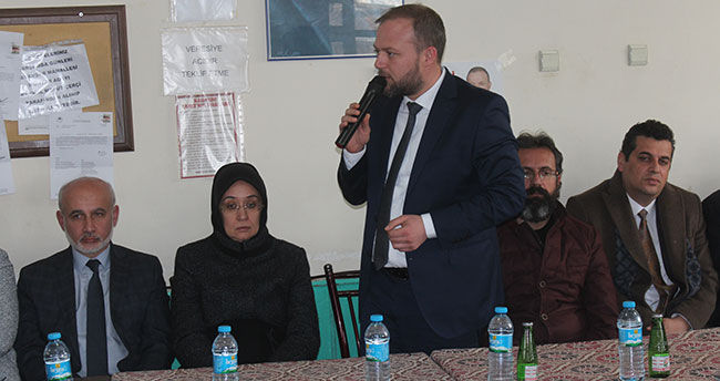 AK Parti Beyşehir Belediye Başkan adayı destek istedi