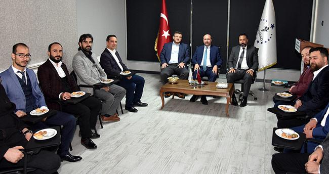 Başkan Pekyatırmacı iş adamlarıyla buluşmaya devam ediyor