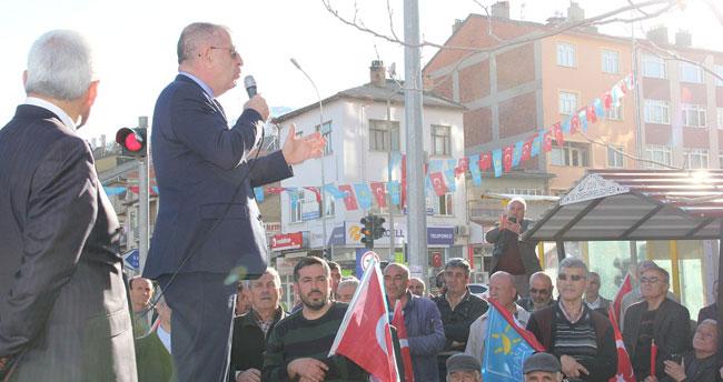 İYİ Parti Genel Başkan Yardımcısı Özdağ, Seydişehir'de