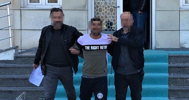 Konya'da galeriden otomobil çalan hırsızlar yakalandı
