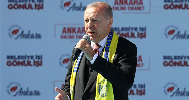 Erdoğan açıkladı: 450 bin kişi katıldı…