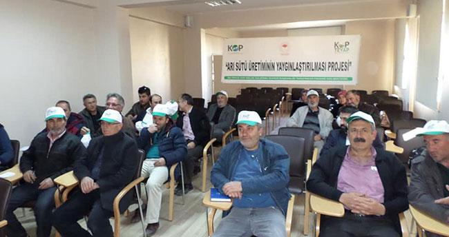 Konya'da bal üreticilerine eğitim verildi