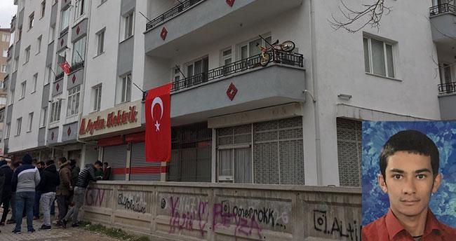 Şehidin acı haberi Aksaray'daki ailesine ulaştı