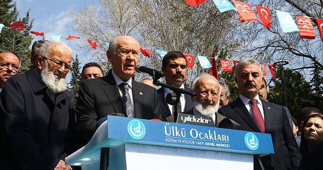 MHP Genel Başkan Bahçeli: Alparslan Türkeş'in hatırasına her daim sahip çıkacağız