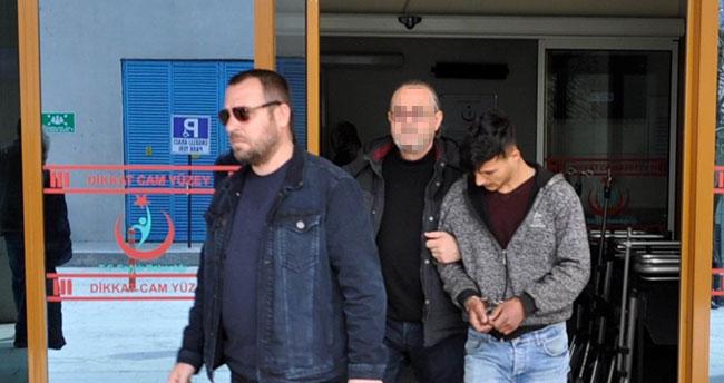 Konya'da çaldıkları motosikleti satmak isterken yakalandılar
