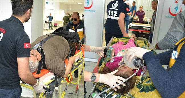 Aksaray'da otomobil yayalara çarptı: 1 ölü, 3 yaralı