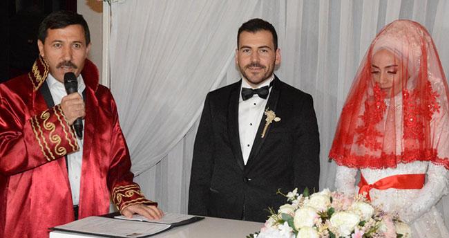 Başkan Kılca ilk nikahını kıydı