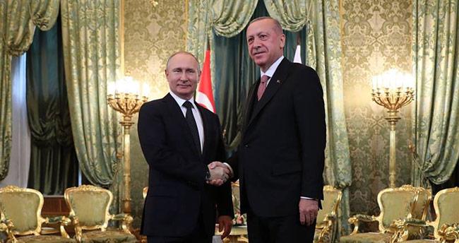 Erdoğan: Rusya ile 100 milyar dolarlık hedefe doğru yürüyoruz