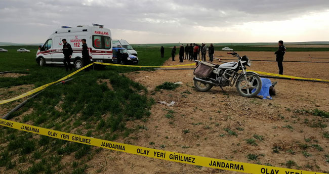Konya'da tarla sulamaya gitti cenazesi bulundu
