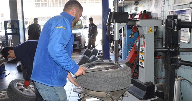 'Kış lastikleri, yaz aylarında kazalara sebebiyet verebiliyor'