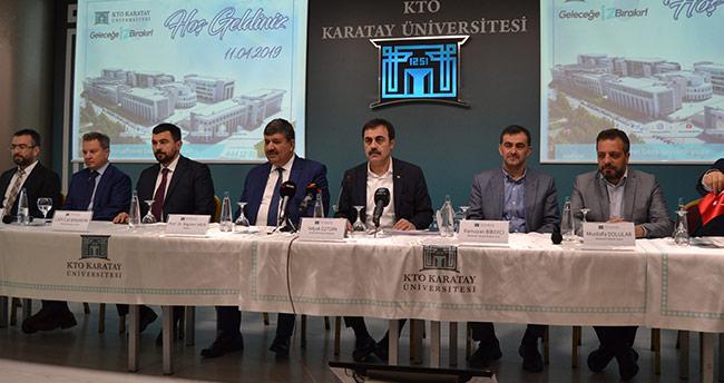'KTO Karatay Üniversitesi, ülkemizin parlayan yıldızı'