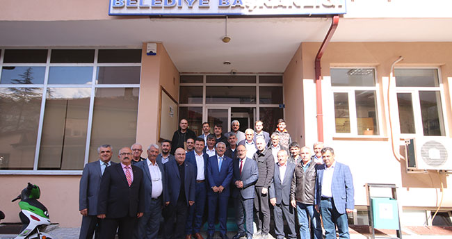 İYİ Parti Yokuş'tan Beyşehir Belediyesi'ne ziyaret