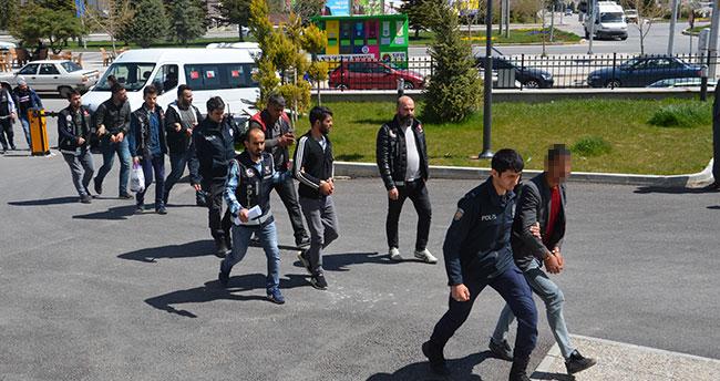 Karaman'daki uyuşturucu operasyonunda 5 tutuklama!