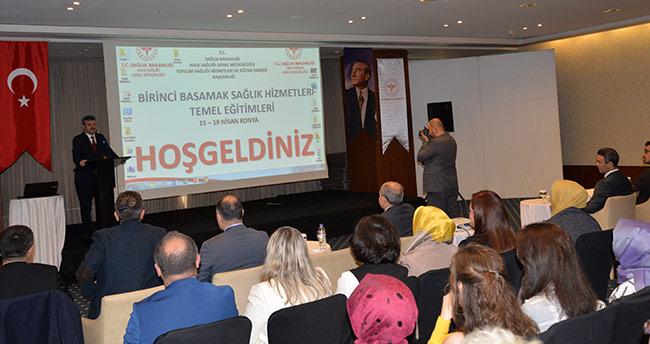 Sağlık Hizmetleri Temel Eğitimleri Toplantısı Konya'da Başladı