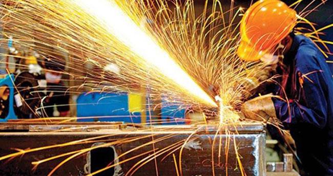 Sanayi üretimi Şubat ayında yüzde 5,1 azaldı
