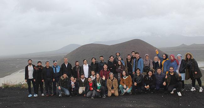 Coğrafya öğretmenliği öğrencileri Karapınar'a geldi