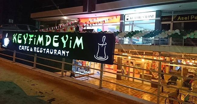 Keyfimdeyim Cafe Restoran Konyalıları bekliyor