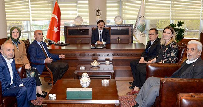 AK Parti Konya'dan Başkan Kılca'ya ziyaret