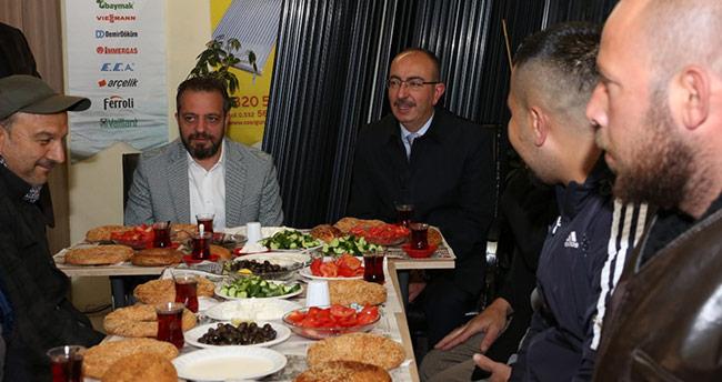 Başkan Kavuş: 'Beni sürekli aranızda göreceksiniz'