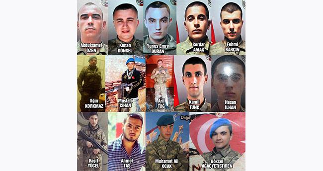 15 askeri şehit eden teröriste müebbet